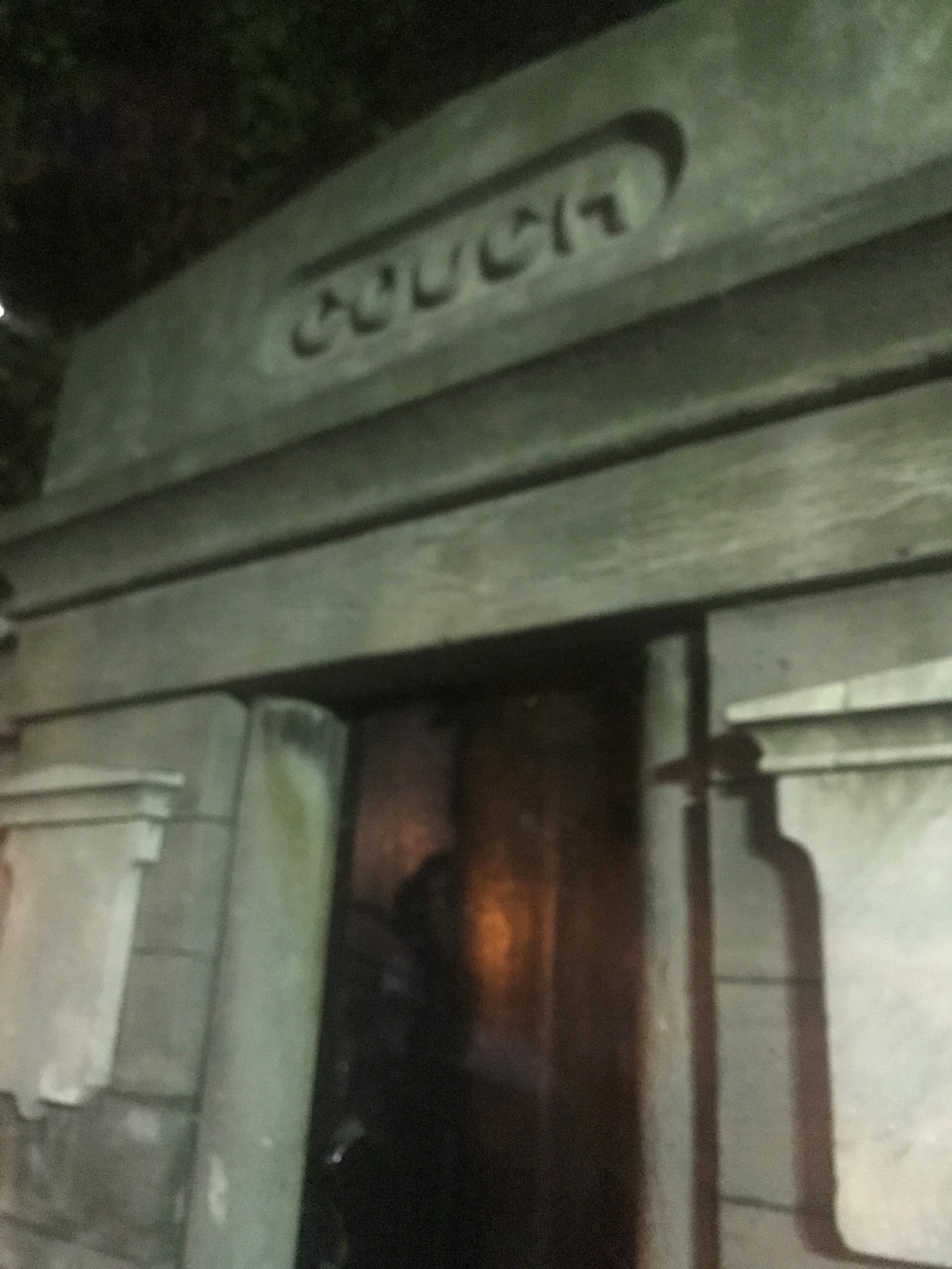 The Couch Mausoleum is one of the few visible reminders of Lincoln Park's past