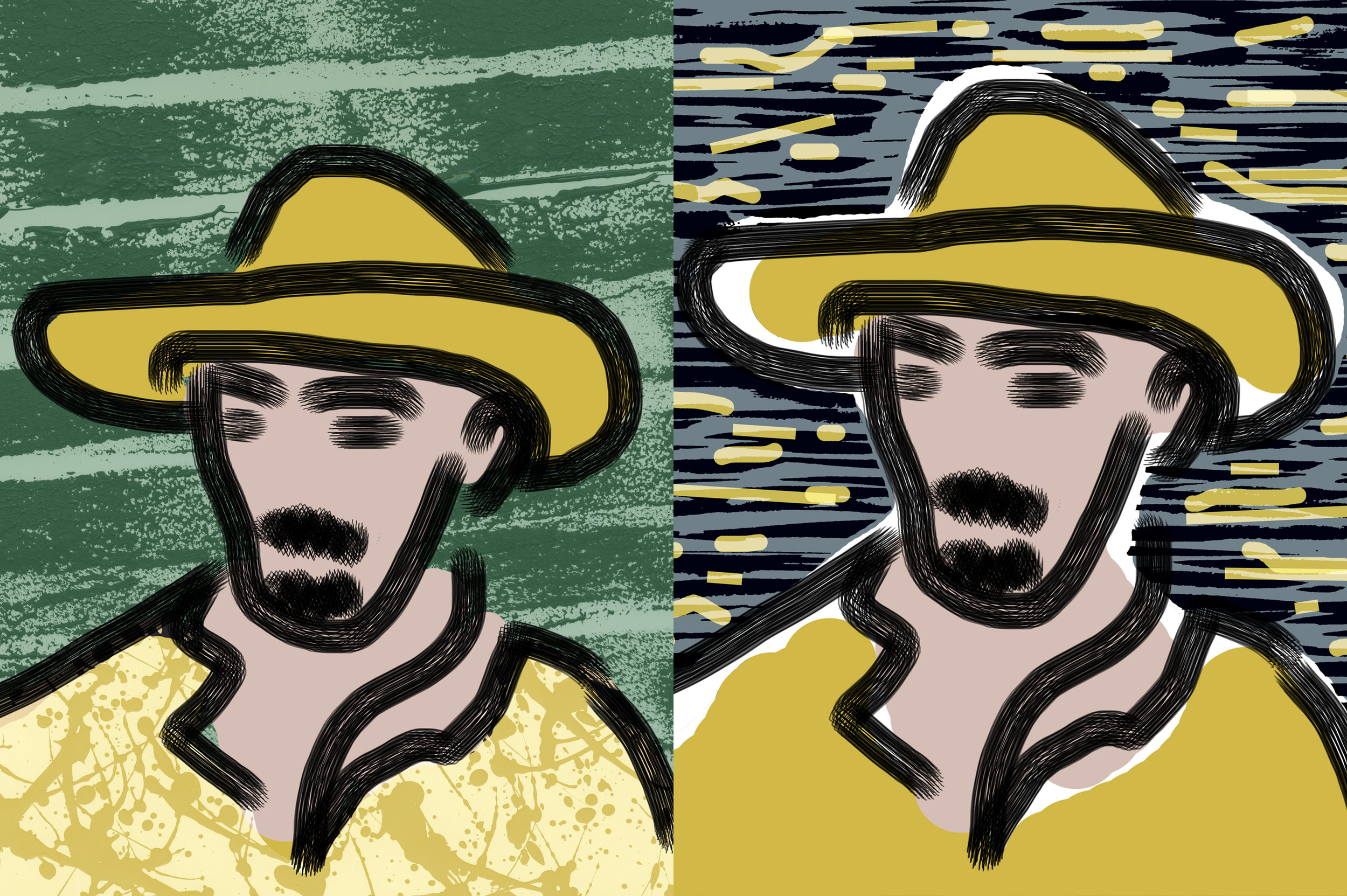Vincent van Gogh 2 and 3.jpg