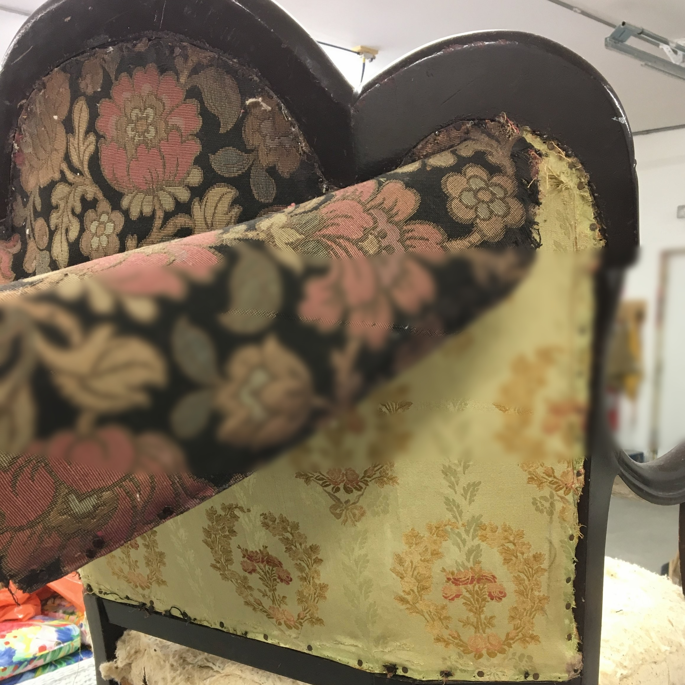 reupholstery -