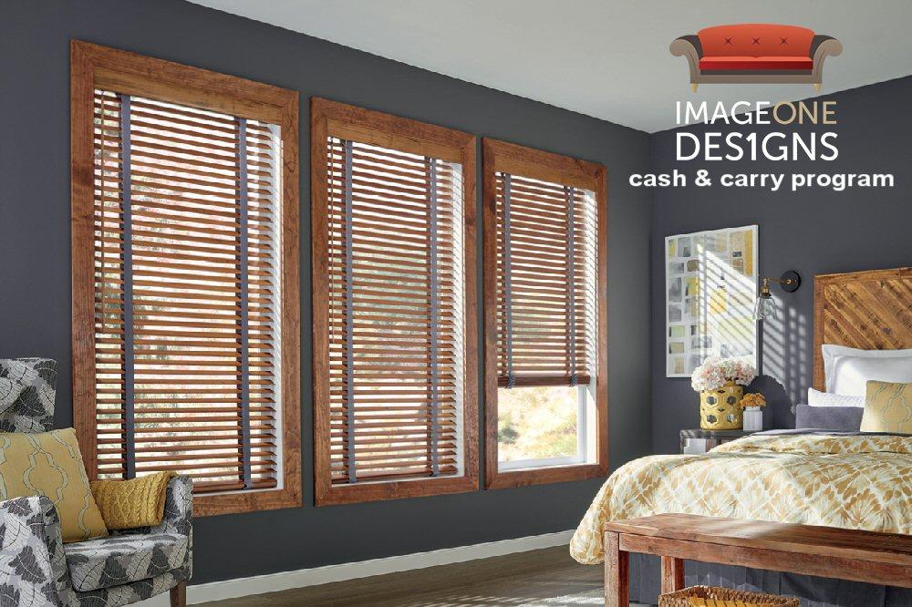 Graber faux wood blinds