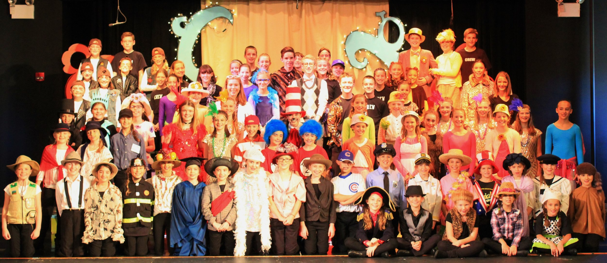 Seussical, Fall 2016