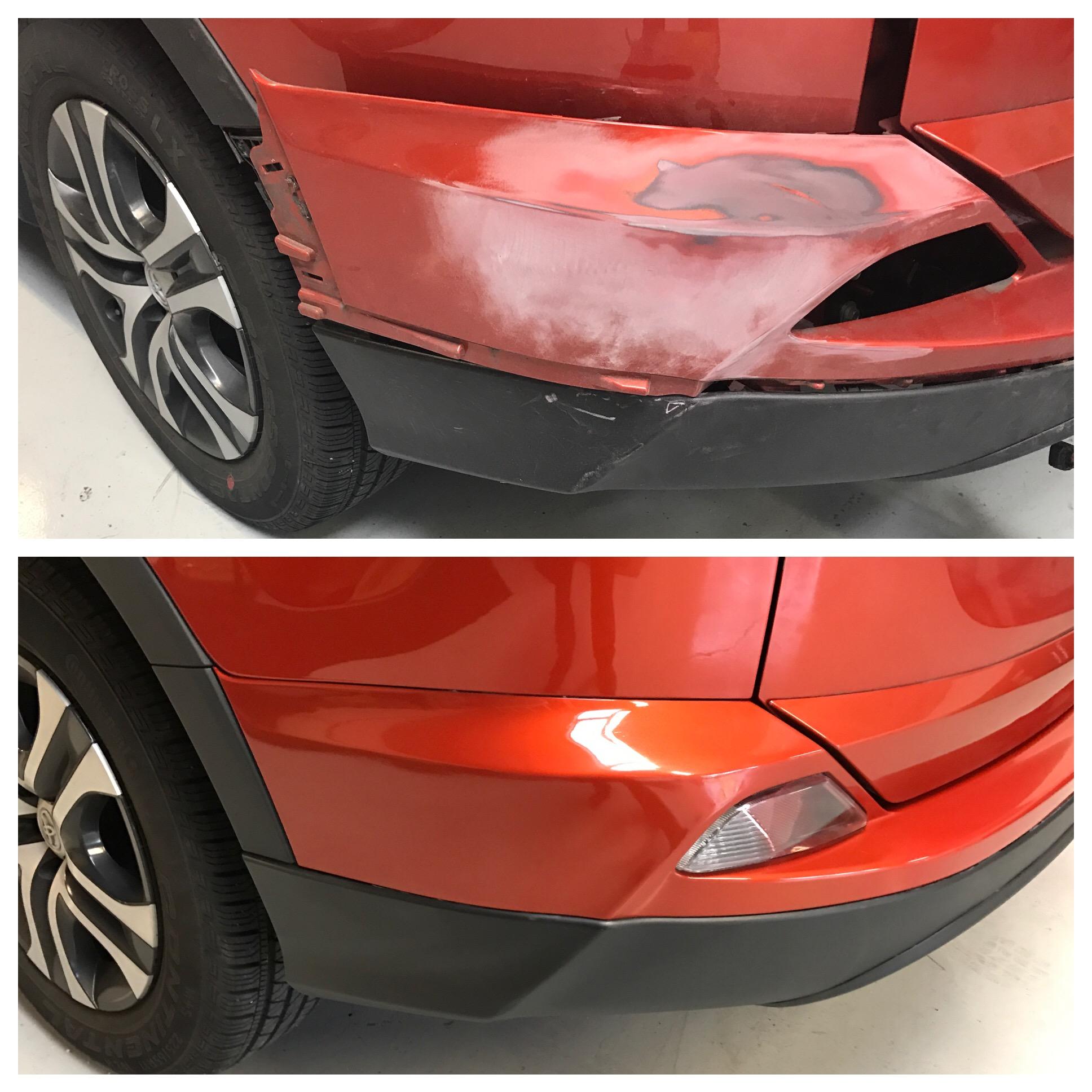 Bumper Refinish -