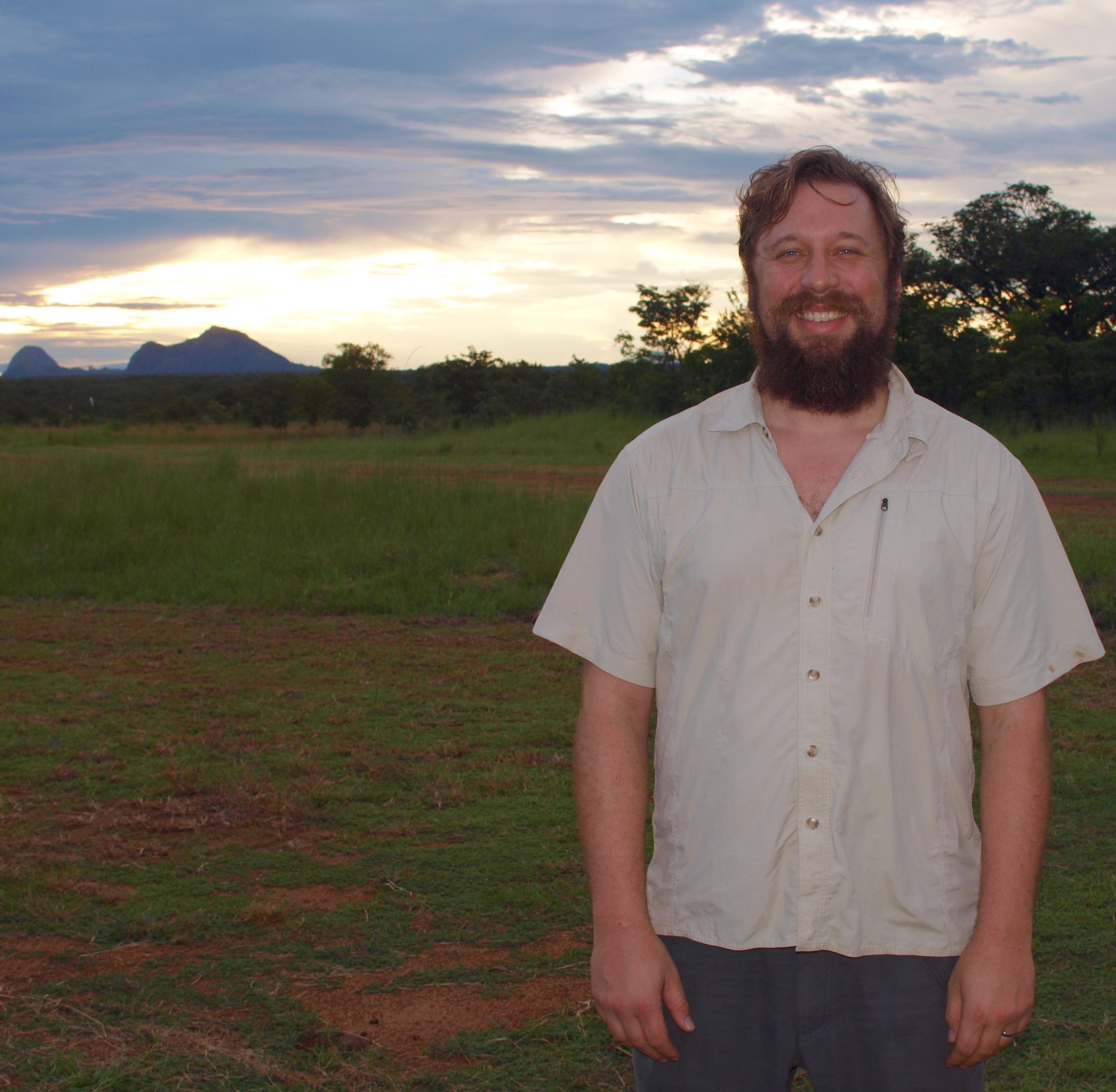 Niassa Reserve, Mozambique, researching wildlife trafficking network dynamics. (2013)