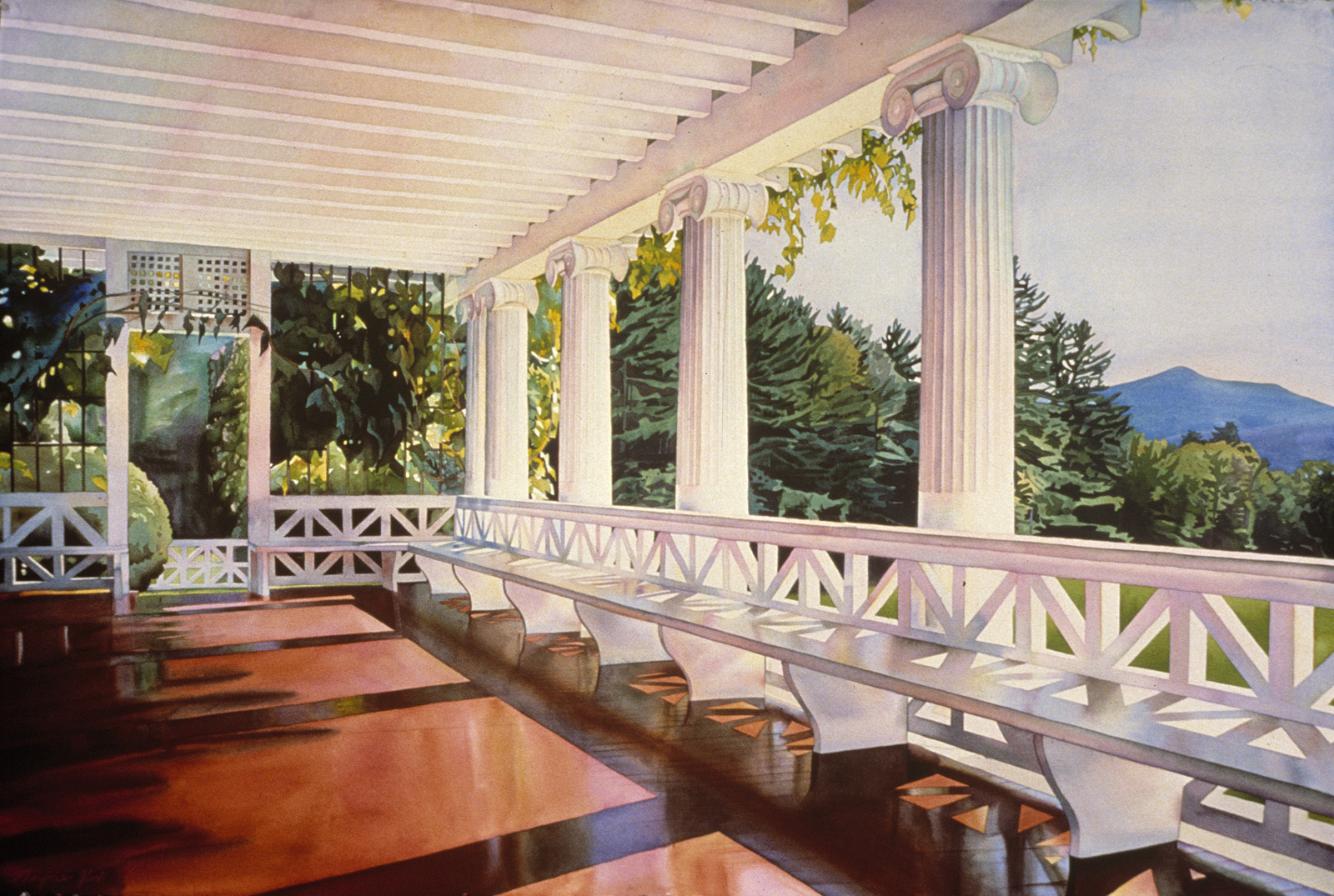 Porch with Mountainview