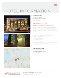 Hotels in Town:  click here