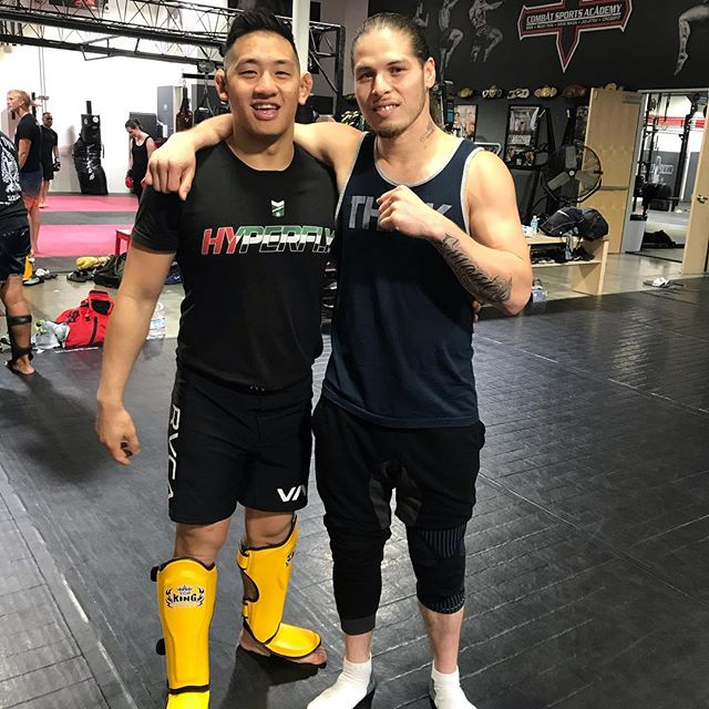 Awesome first day with some greats. These dudes dropped serious gems and nuanced concepts dropped in these training blocks! Already big fans of these guys, so it was extra dope to learn from these beefcakes #csacoachesclinic — #strength #conditioning #boxing #mittwork #mma #bjj #kickboxing #muaythai #brazilianjiujitsu #jiujitsu #pasadena #training #martialarts #fight #mitts #muaythai #fitness #train #workout #functionaltraining #combattraining #traininghard #striking #saturday #selfdefense #mixedmartialarts