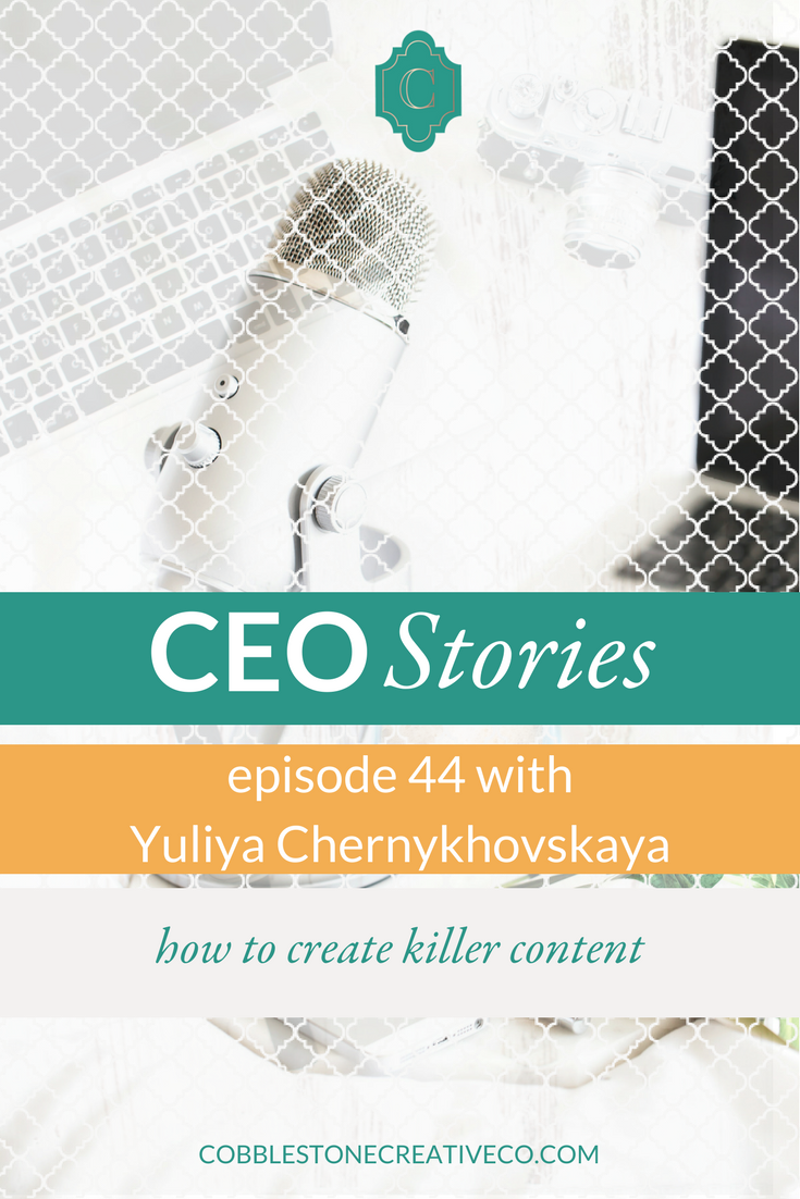 Content is King in the world of online marketing and Yuliya has mastered what it takes to be seen and to convert with it. Today she shares some of her best tips with us to help you take your social content to the next level.