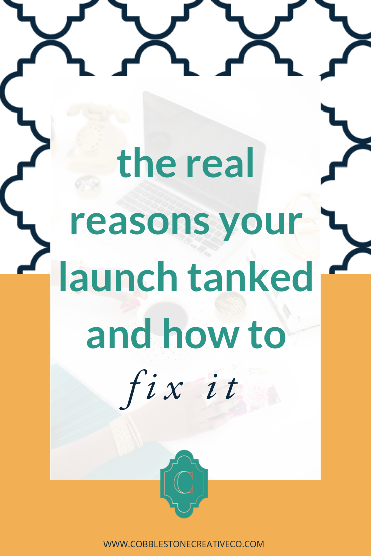 What if I told you the reason your launch was stressful with lackluster results wasn't why you thought?  Every day people are launching their products and programs to crickets or sheer disappointment. It's a lot of work and stress to not see the reward for all your effort.  And what do most people tell you?  Throw more money at it! Get more leads in! Stop launching and get a funnel!    False.   After helping get clients   results like 11% conversion rates  , I know there's a better way and I'm gonna share with you  the REAL reasons your launch may have tanked + how to fix that.      Check it out in the video below!