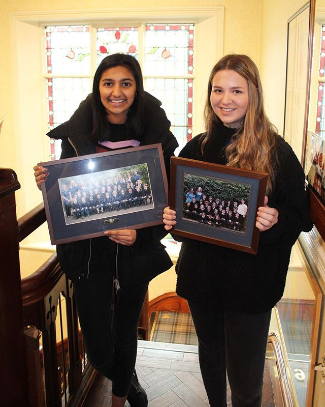 This week, Oakfieldian Alicia Harris (Class of 2006) & Aviraj's (Class of 2014) big sister Risha Somaiya, will be joining us @oakfield_nursery_school from Withington Girls' School, for their work experience.  @liciharris1 @risha_somaiya  #oakfieldian #alumni