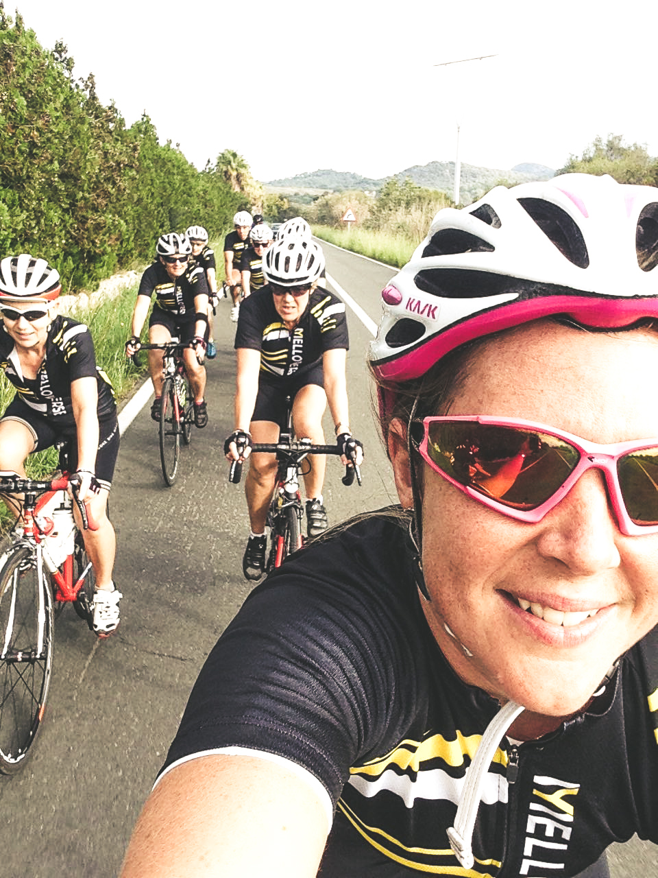 - Debbie rides for a UK based team and has raced at events all over the world. Heading to Mallorca as often as she can for training, she loves helping women improve their riding and encouraging themselves to challenge themselves a little!
