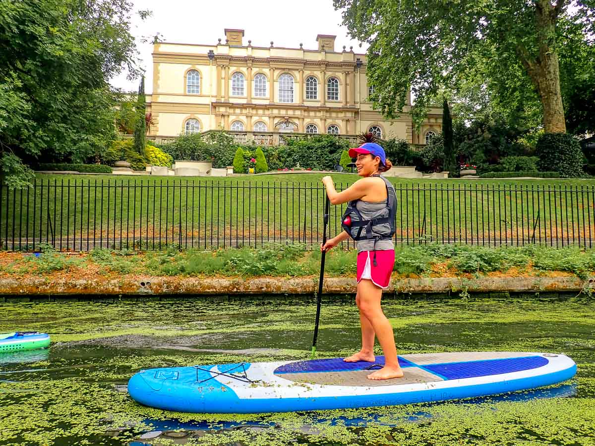 SUP TO CAMDEN - REGENTS CANAL | RETURNING PADDLES ONLY