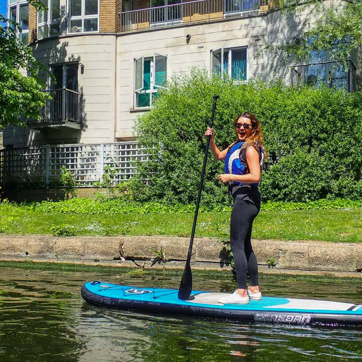 SUP ON THE THAMES - ALL LEVELS WELCOME | COME LEARN WITH US!
