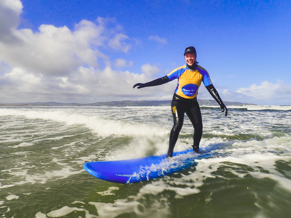 SURF LESSONS - BENONE STRAND | NORTHERN IRELANDLearn to surf with us and join the Gutsy Girls Surf Club.Monthly lessons for all levels, tailored coaching to progress your surfing!Short hop from London Derry or Belfast on the train