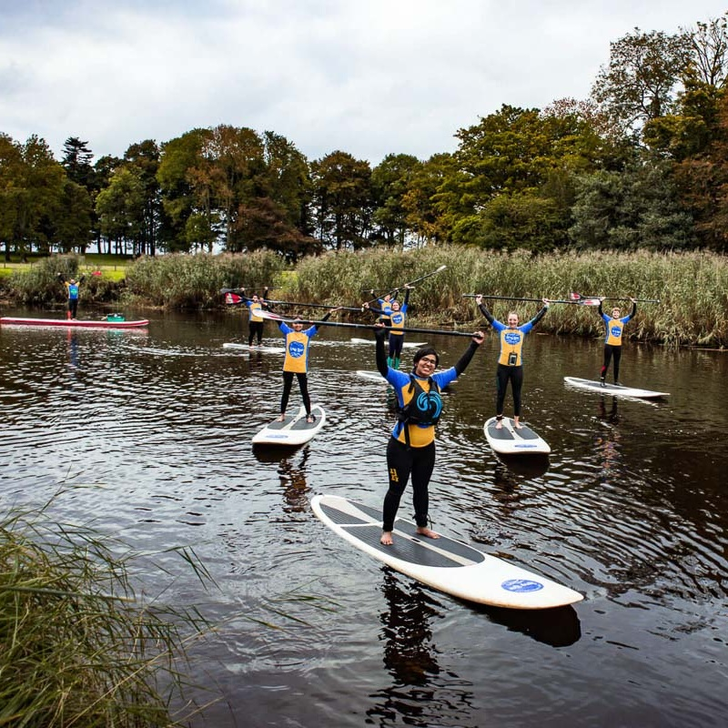 GUTSY GIRLS SUP DAY £45 - 1:30PM - 4:30PM | ALL LEVEL PADDLEBOARDERS•SUP Instruction from fantastic coaches•Wetsuit and board hire•Test out a wide range of boards, including the dragonboard•Wild swimming and SUP games•Free pick up and drop off from Bellerana Train station•Riverside coffee
