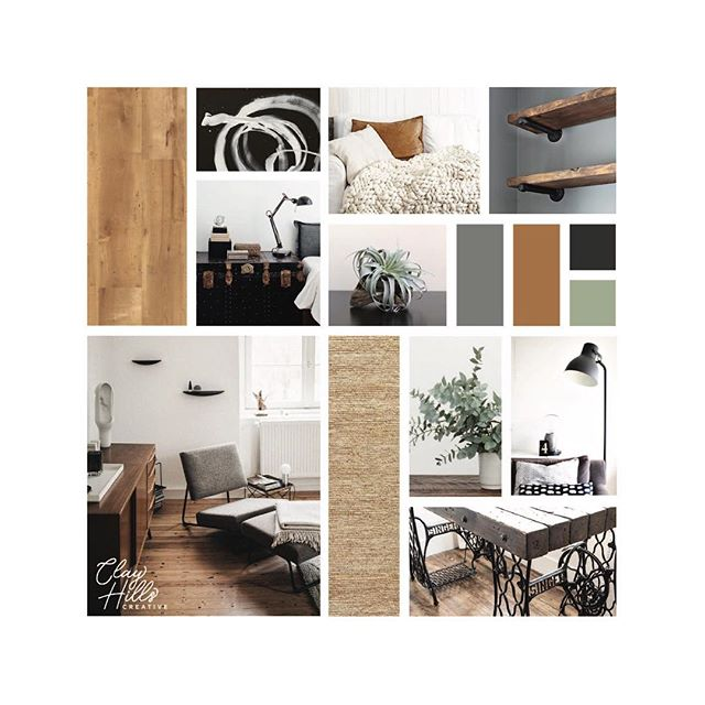 hello it's me I'm back! things have been v v busy, so I've got lots of great things to share (!!) but let's start with this client moodboard, created for a couple looking to blend their modern & industrial styles (you can even sneak a peek at my new branding in action in the corner ☝️) stay tuned for more fun coming soon! 🌿✨