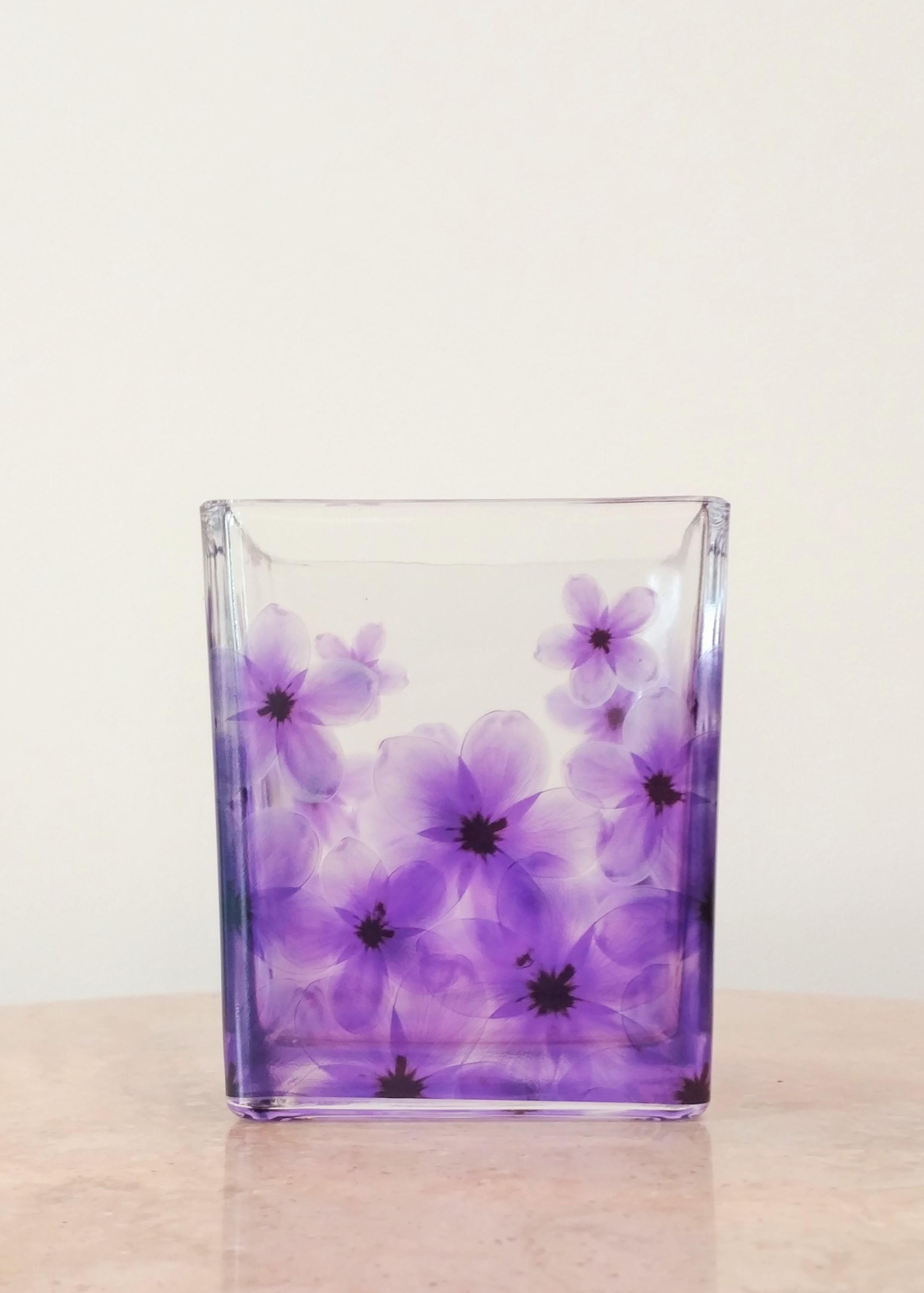 """5"""" Painted Vase (4"""" Diameter)"""