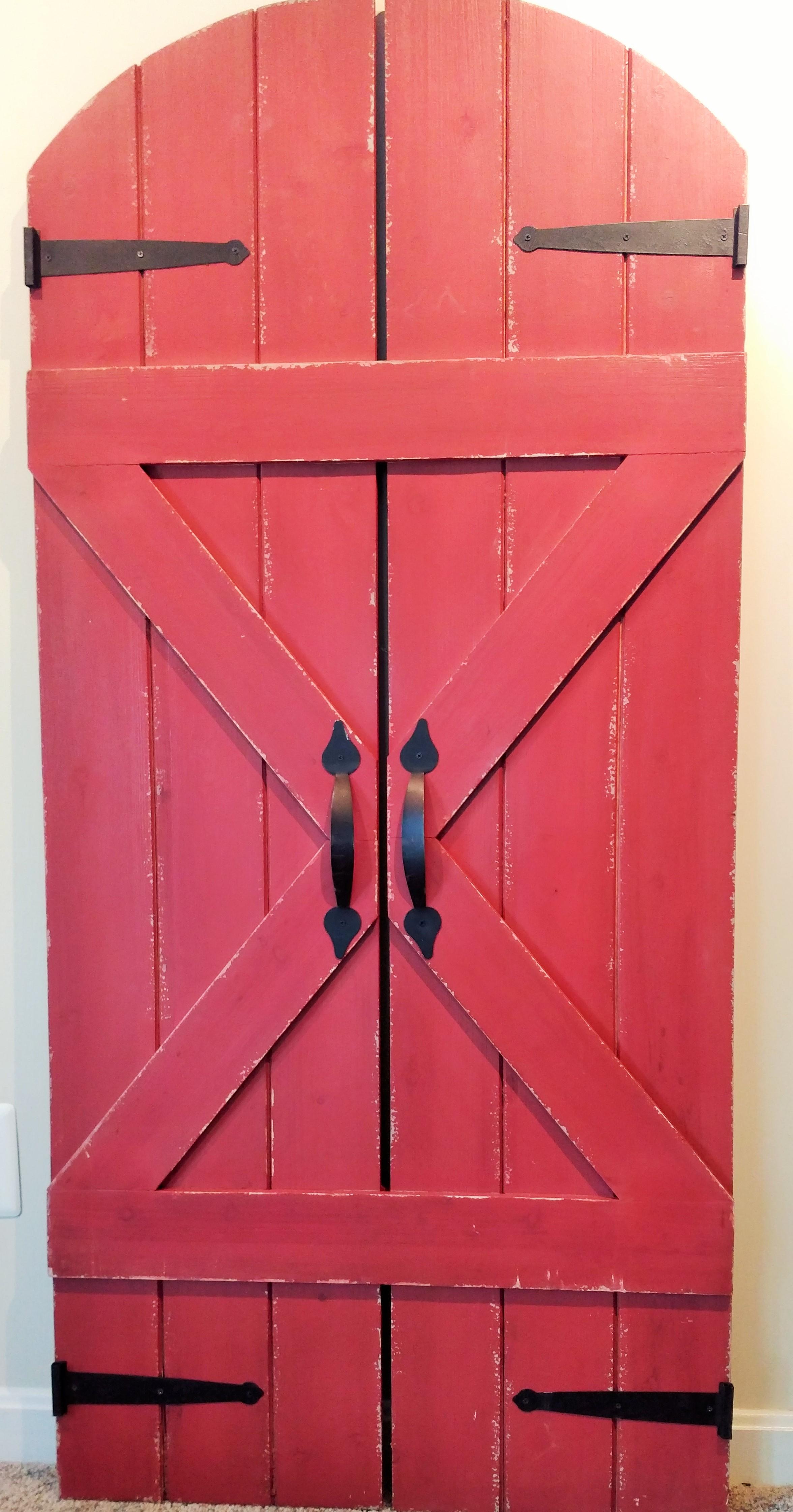 """59.5"""" Wooden Barn Door"""
