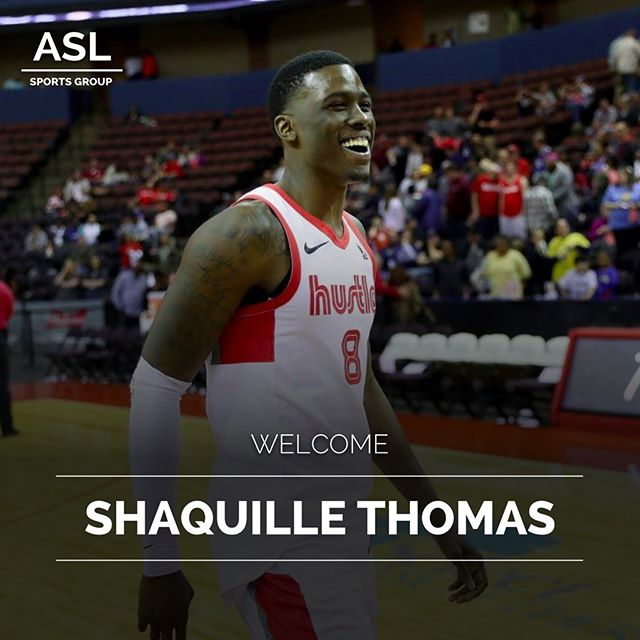 Welcome to ASL‼️ @shaq_thomas