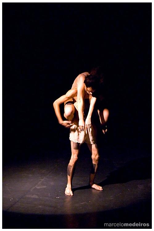 A dança dos homens - 1994 -Coreografia Ricardo Risuenho