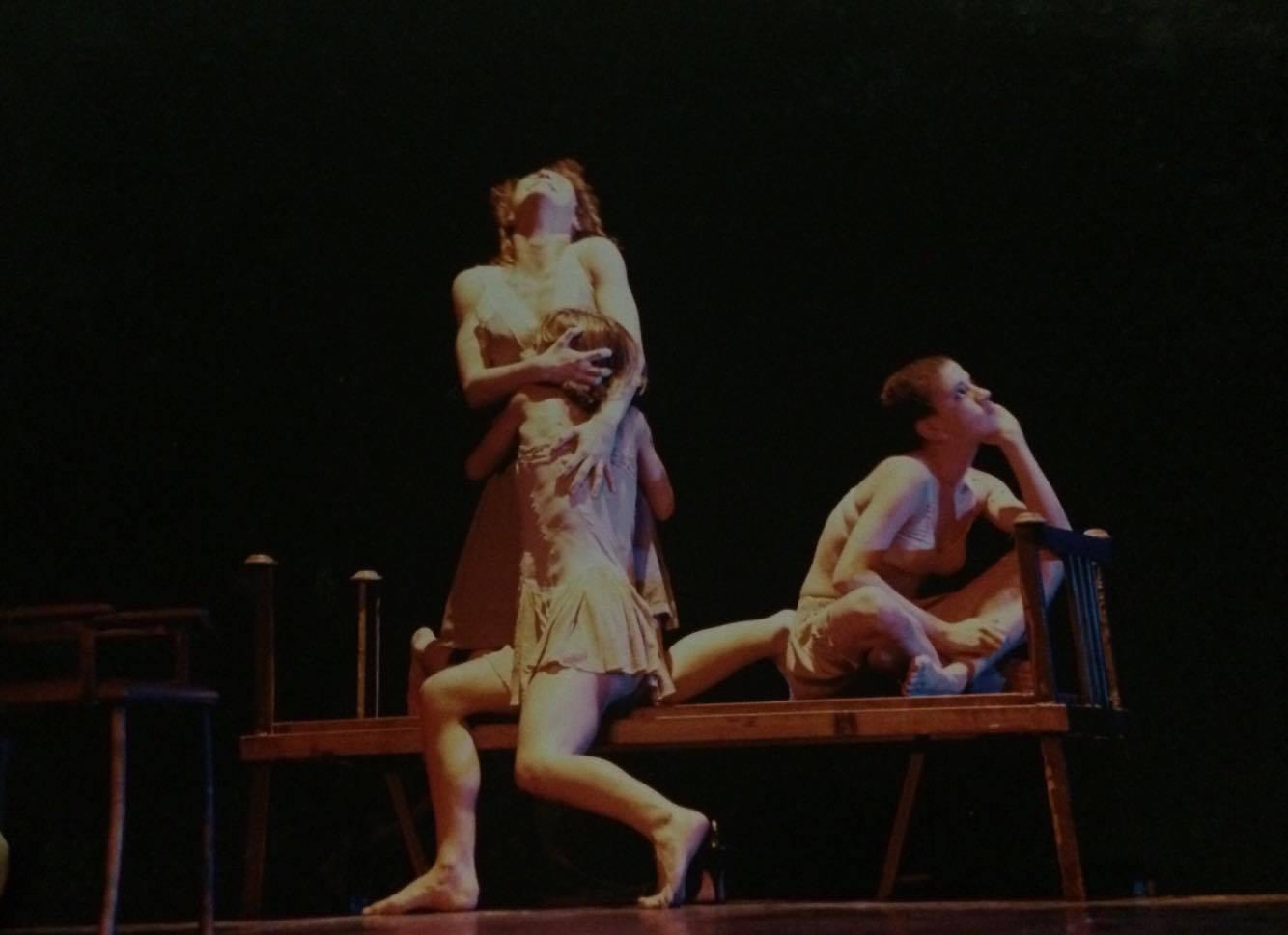 AS MENINAS - VAN GOGH - 1998 - Coreografia Giselle Tápias