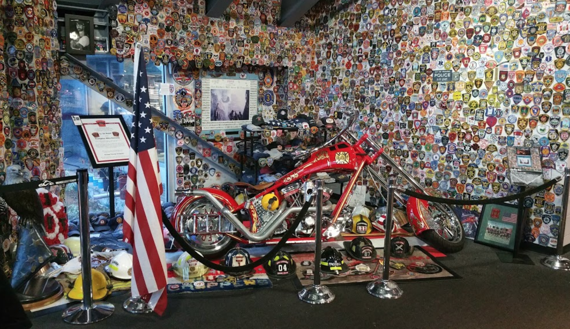 Orange County Choppers Pays Tribute to the 343 Members of FDNY killed on September 11, 2001.