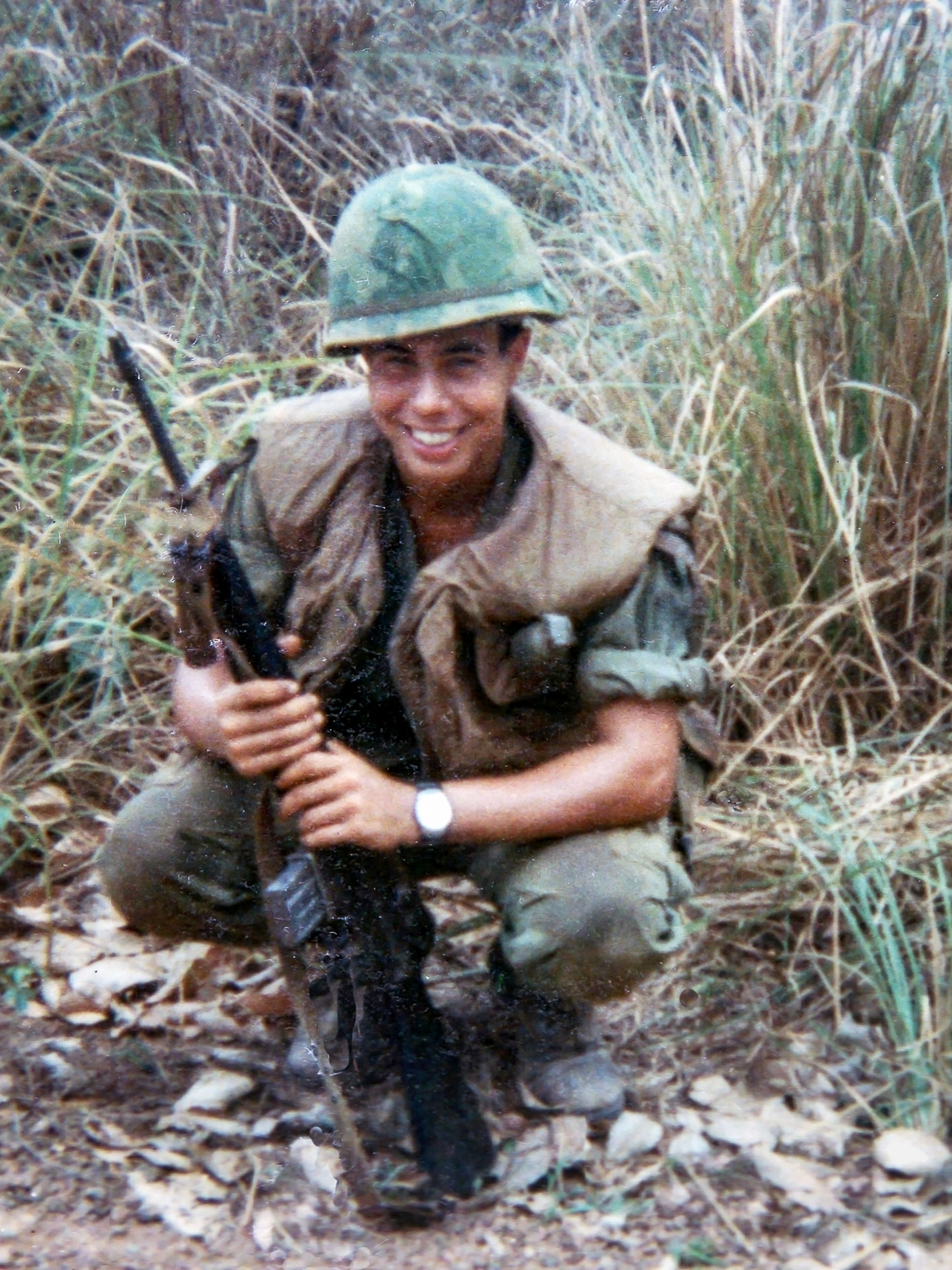 James Polce - Master Sergeant, E-8Active Duty1967-1971; US Army Reserves 1971-200111th Armored Cavalry Regiment; Black Horse Base Camp near Xuan Loc, Vietnam.Medal and Awards:  National Defense Ribbon for Vietnam and Desert Storm; Vietnam Campaign with 6 Oak  Leaf Clusters; Army Commendation Medal; Good Conduct Award; Army Achievement Medal; NCO 3 Medal; Vietnam Service Award.