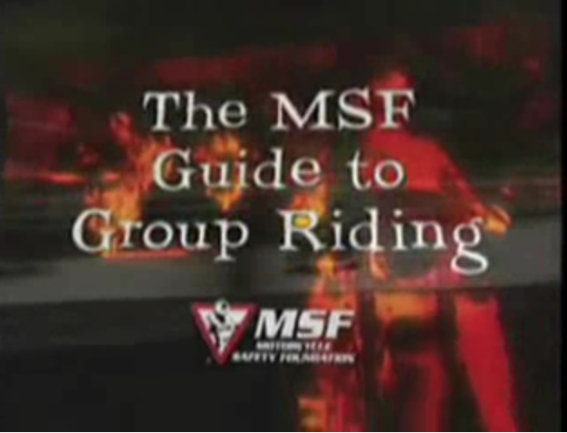 MSF Group Riding Skills Pamphlet - This pamphlet is a must read for all new JSHOG members. It covers the group riding skills used on JSHOG group rides.