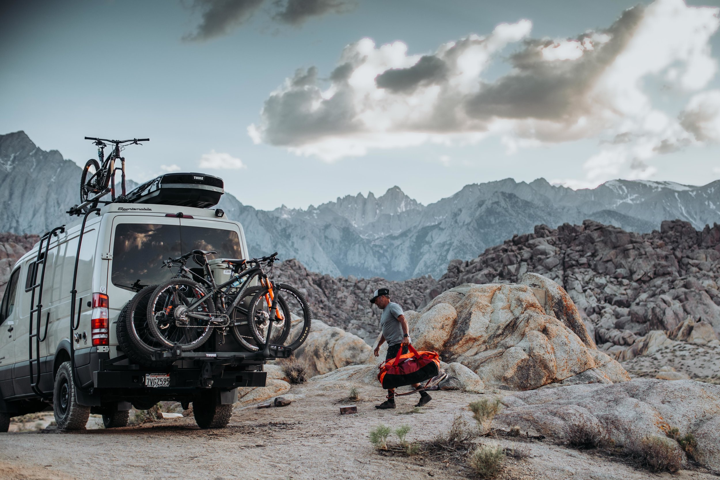 High Alpine Adventure - with Thule