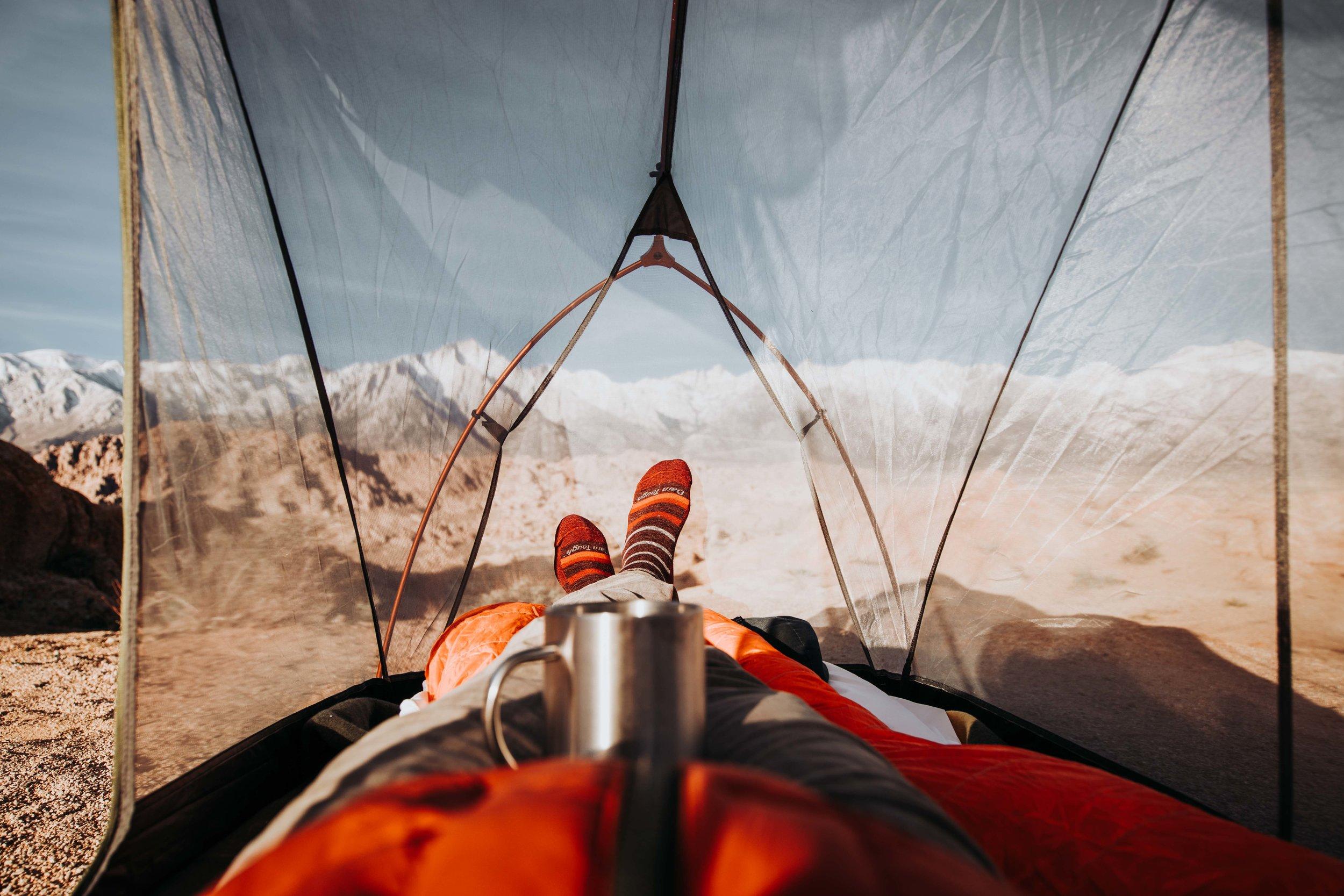 Eastern Sierra - with Darn Tough Socks