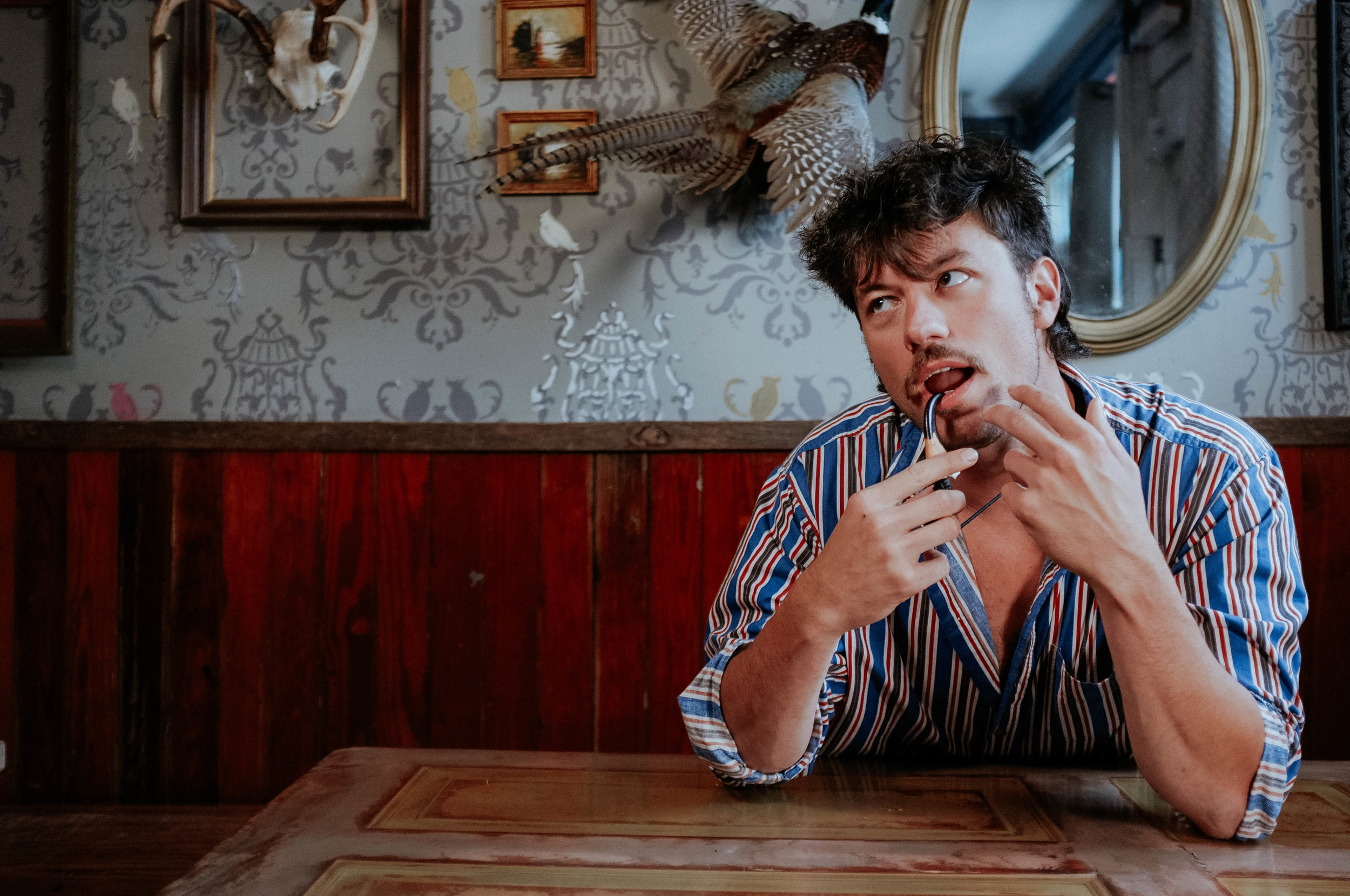 """On this episode, - we sat down with frontman, Walker Trull of Crab Claw to discuss his latest upcoming album, """"Memories Arise."""" The album touches on the memories of family life, where in many songs you listen to conversations Trull had with his mother about unfortunate and rather hysterical scenarios; hysterical, both in hardship and laughter on topics of love, loss, and growing up."""