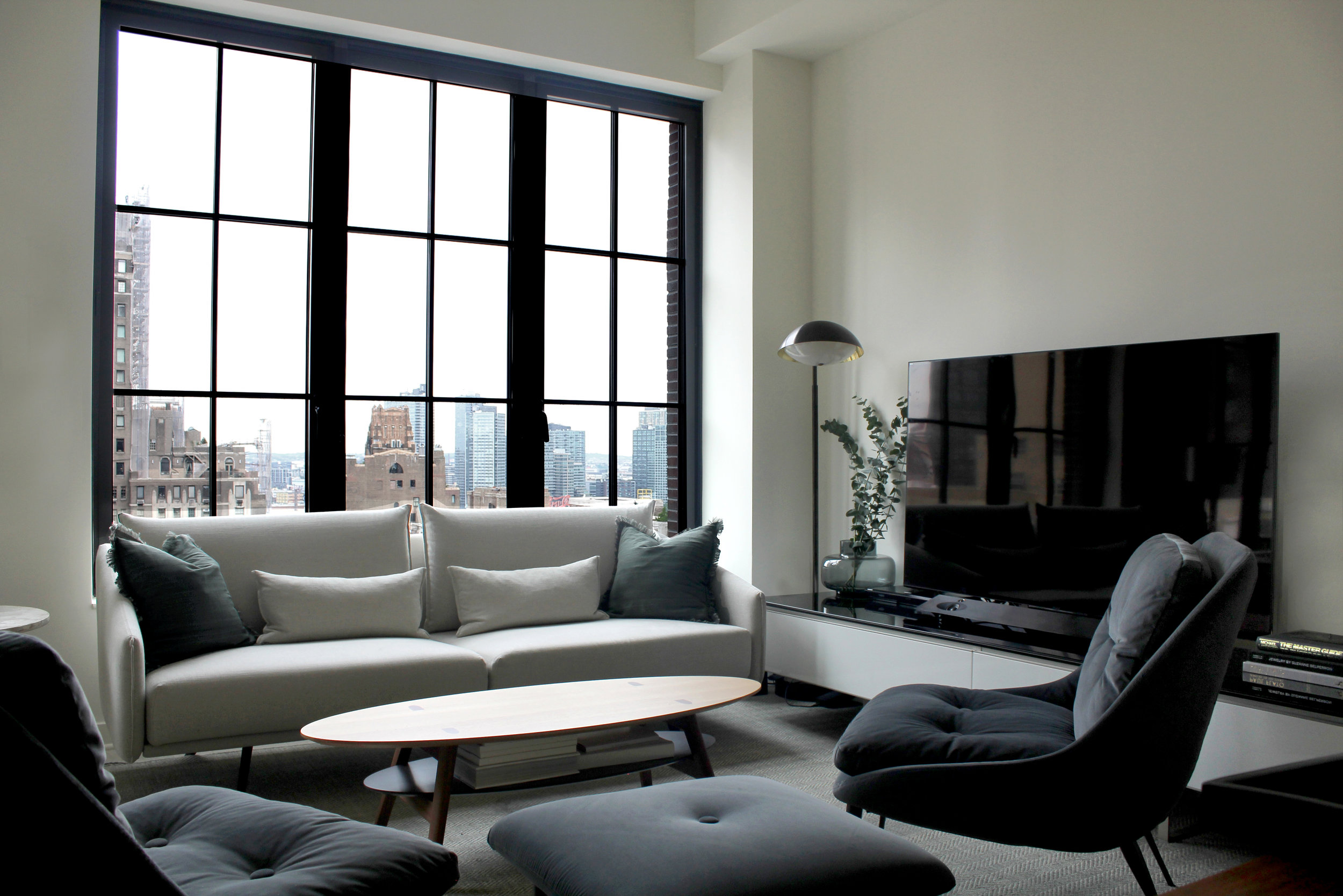 """Manhattan Condo    Completed 2017 