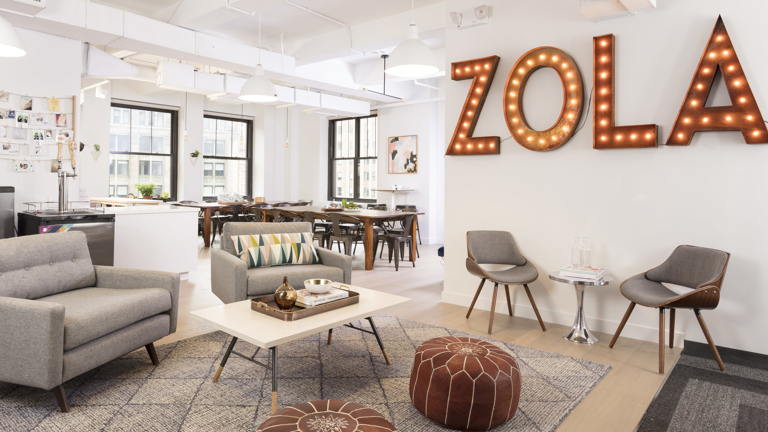 """Zola Offices   Completed with Workframe 2017 