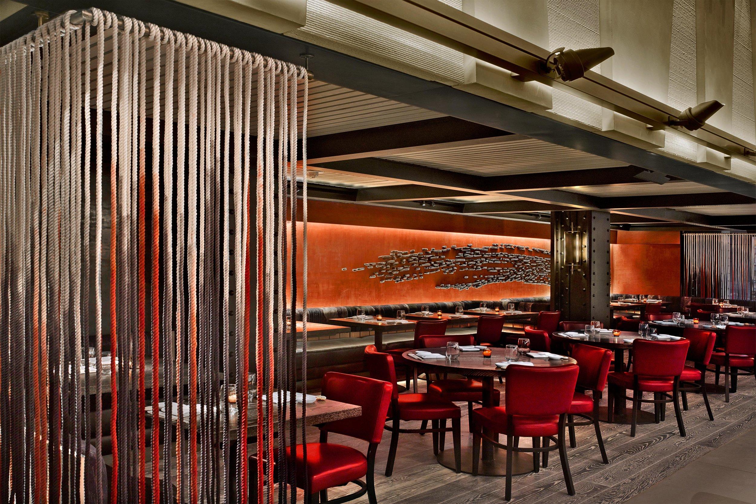 Nobu Downtown New York Interior Design