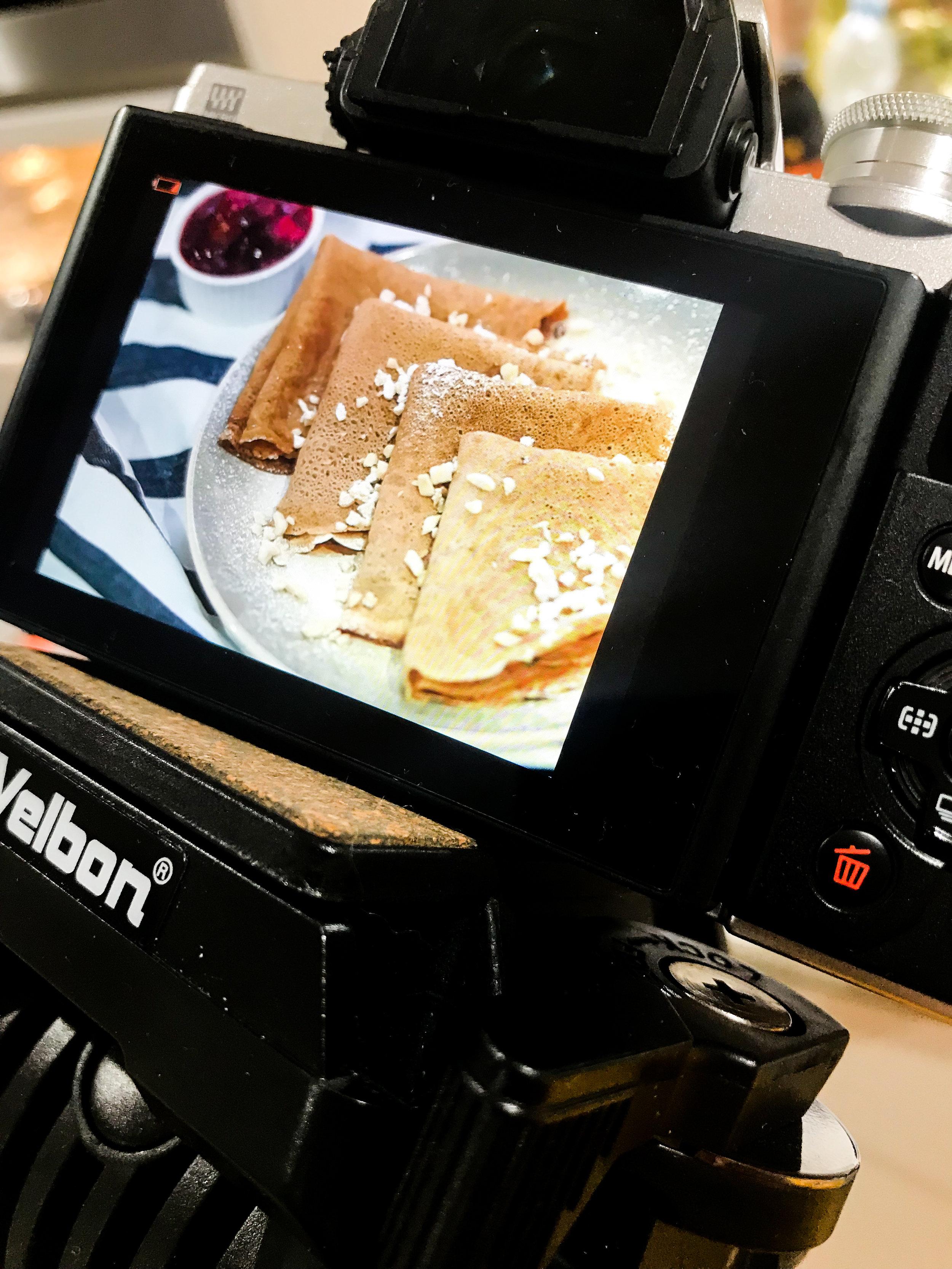 Capturing Delicious Food