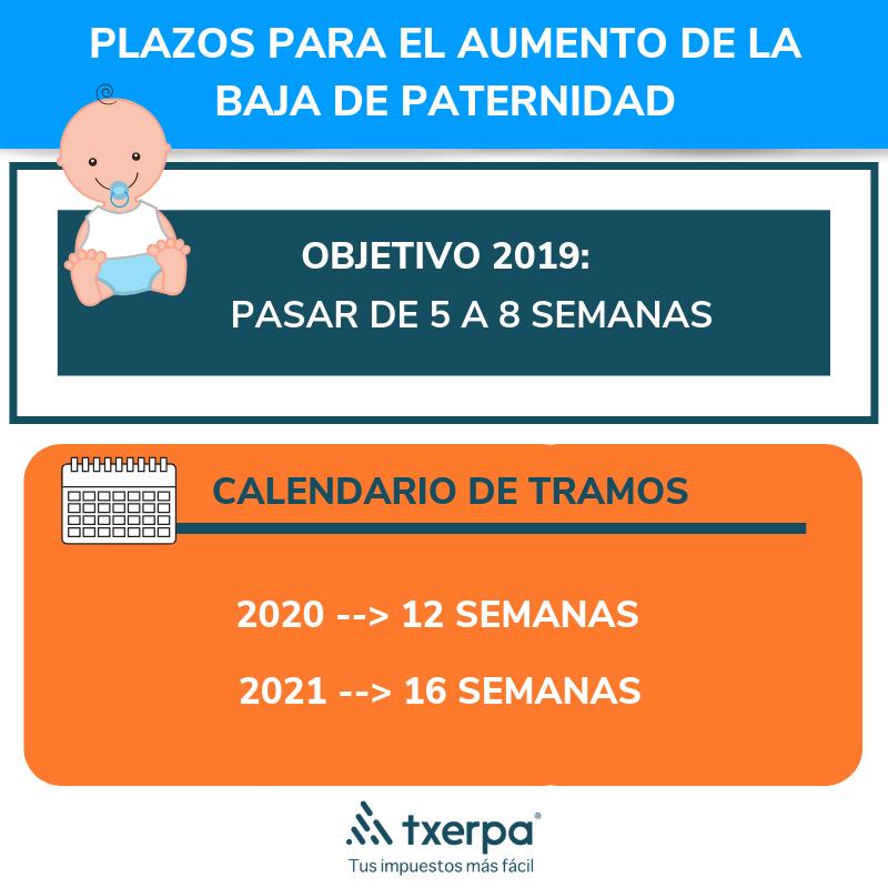 Calendario Impuestos 2020.Baja De Paternidad De 16 Semanas Info Para Autonomos Txerpa