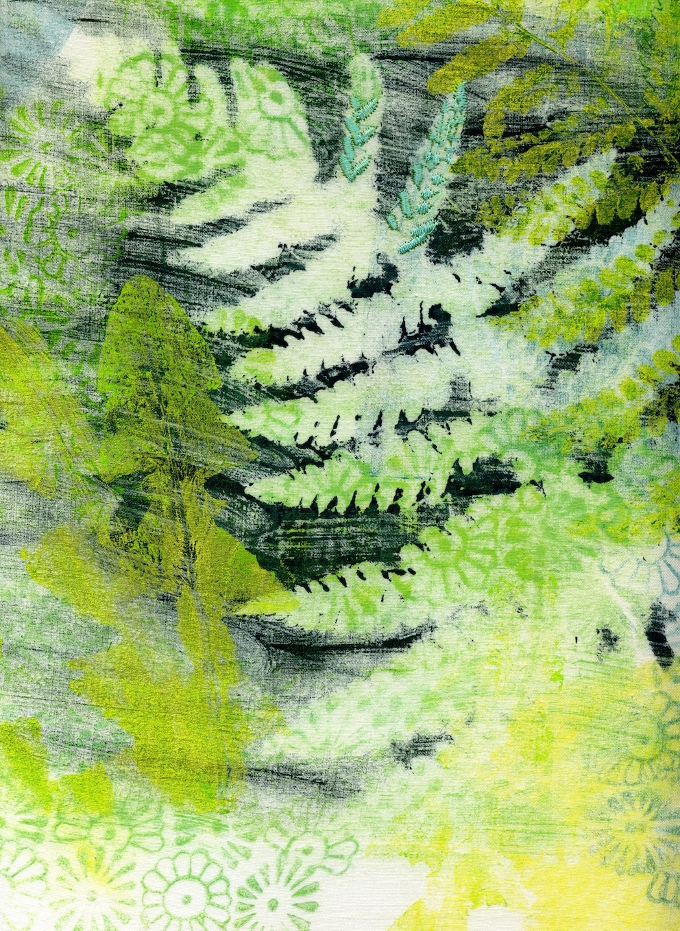 Ferns (detail)