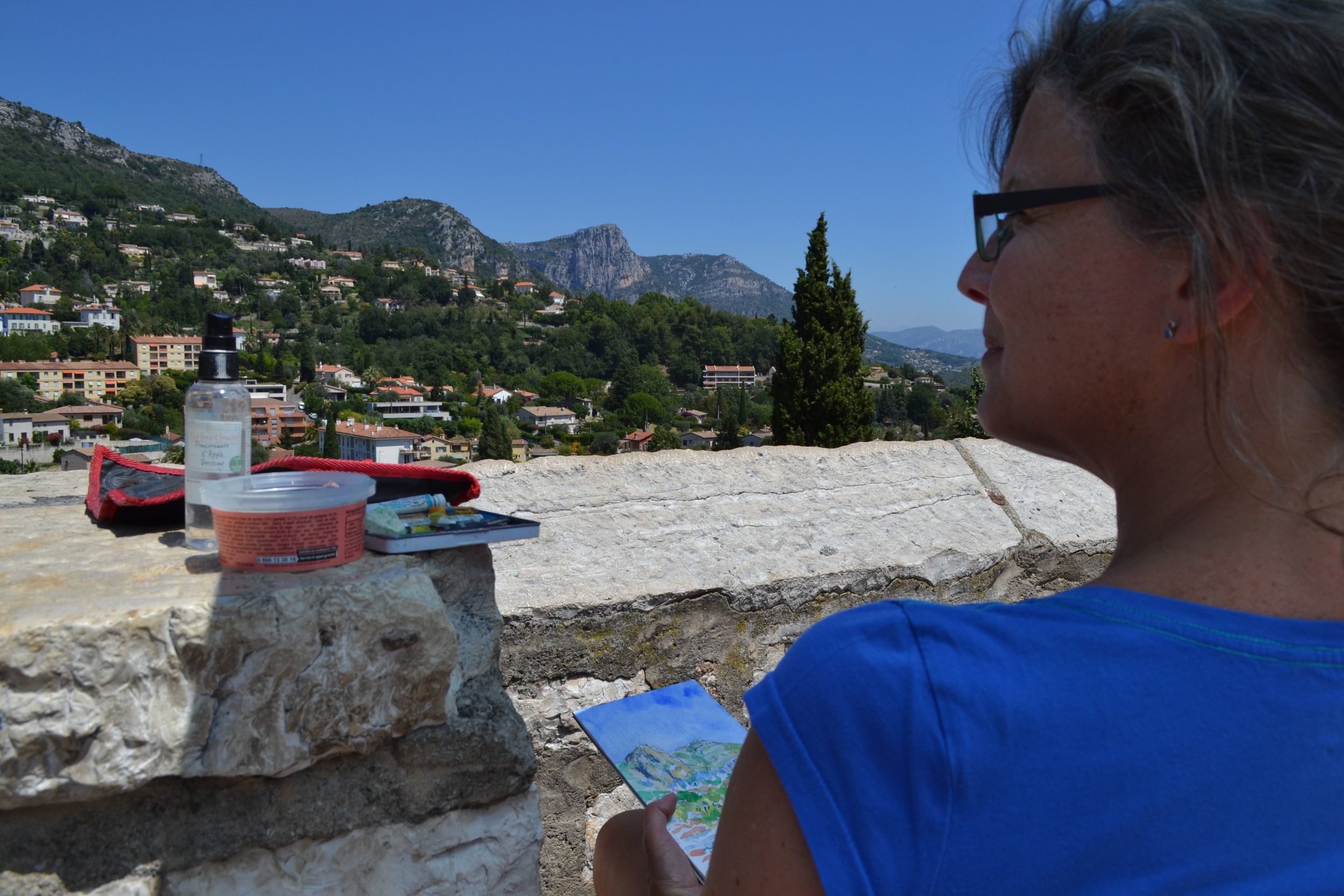 Painting in the South of France