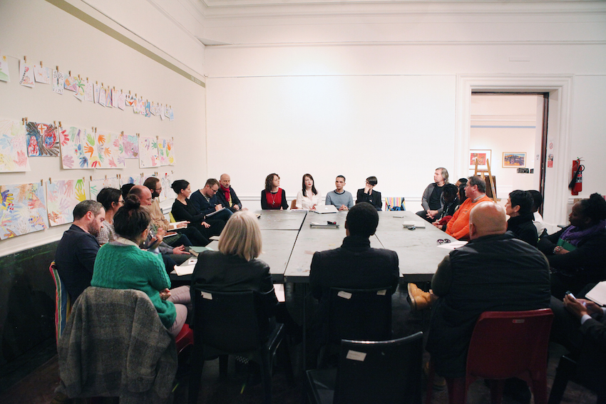 'Giving voice: Studio Conversations' roundtable series, IZIKO South African National Gallery, Cape Town. Image credit: Iziko Museums SA/Nigel Pamplin.
