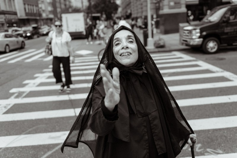 LuLu LoLo,  Blessings From Mother Cabrini , Saint of the Immigrants (photo by Paul Takeuchi)