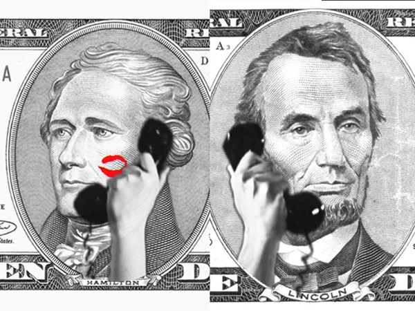 "Ali M. Demirel ""$100"" , 2003, DV, 5'18', image courtesy of the artist"