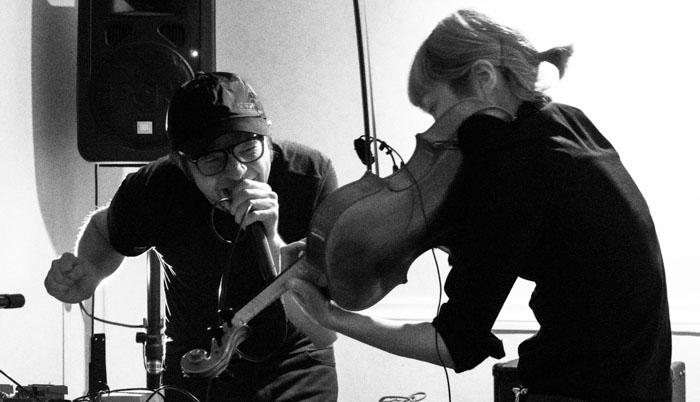 Duet with violist Marie Takahashi, Fourth Floor, Tokyo