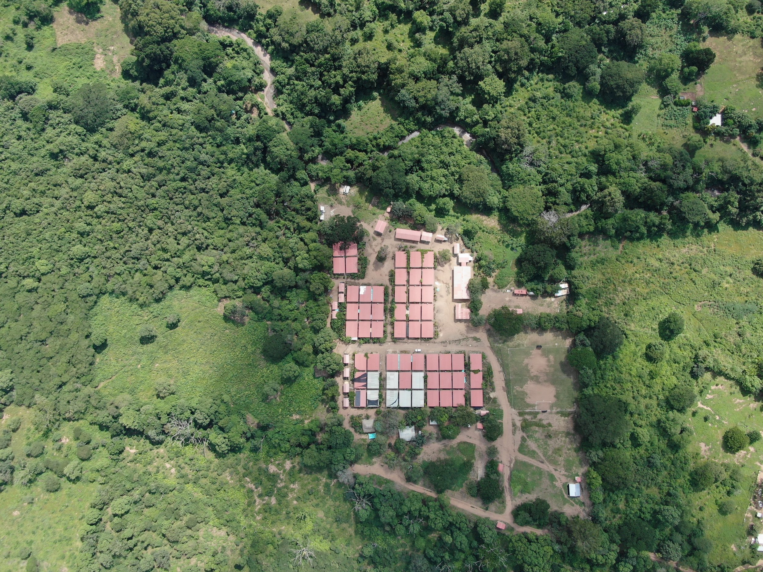 View from above of ETCR Amaury Rodríguez, Colombia