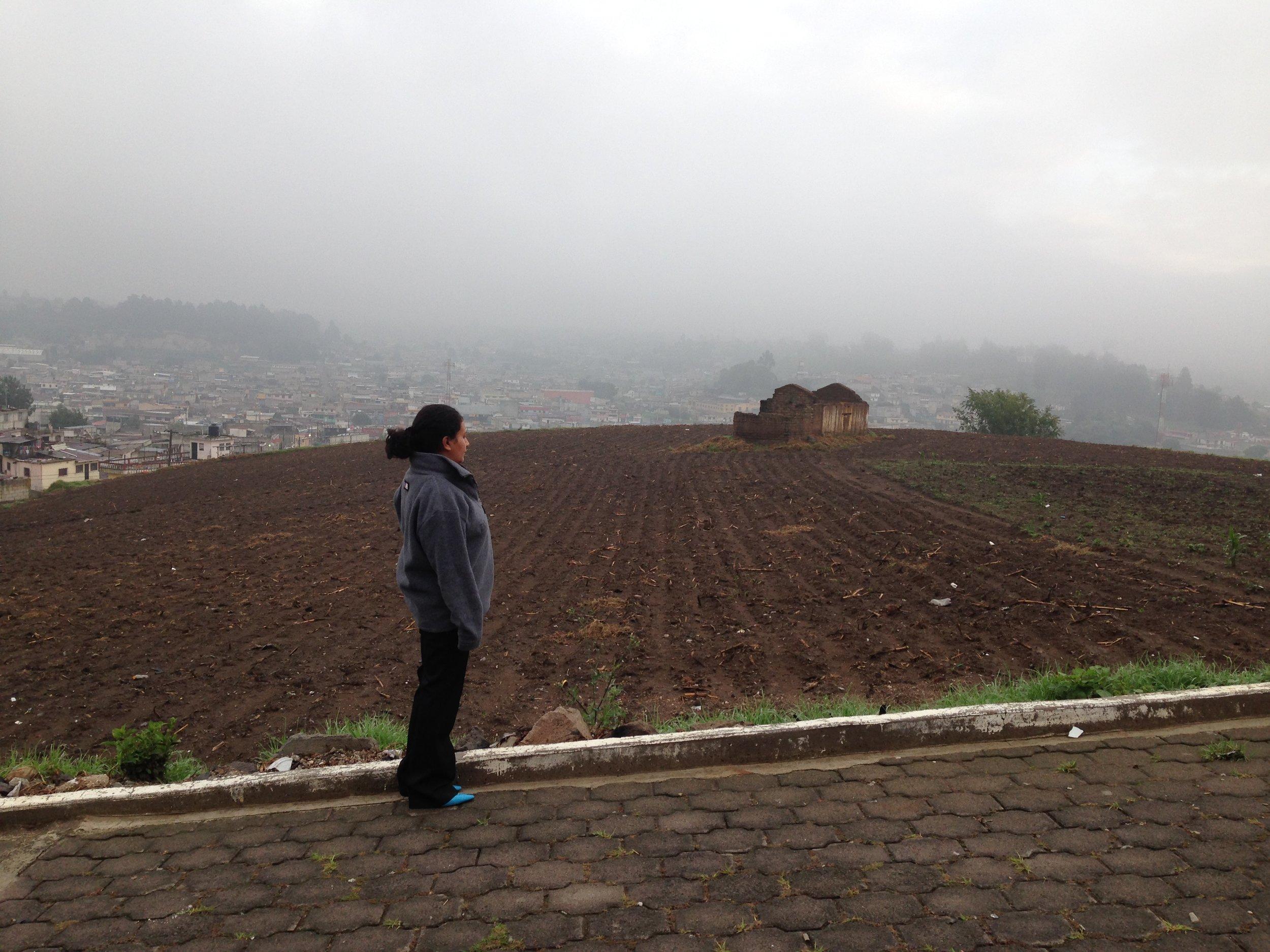 Karin Gramajo in Quetzaltenango.