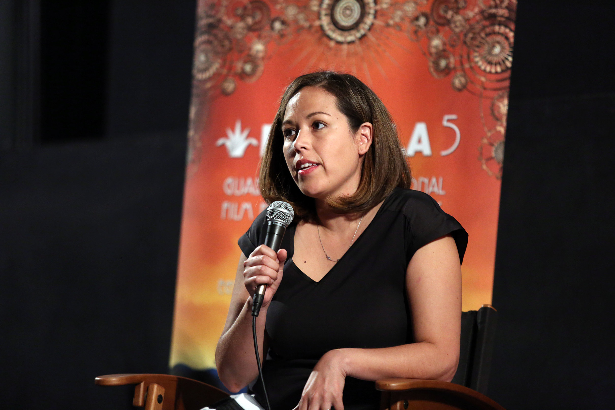 Andrea Garcia, Astrid's lawyer, at the FICG in Los Angeles. ©Juan Tallo, FICG in LA