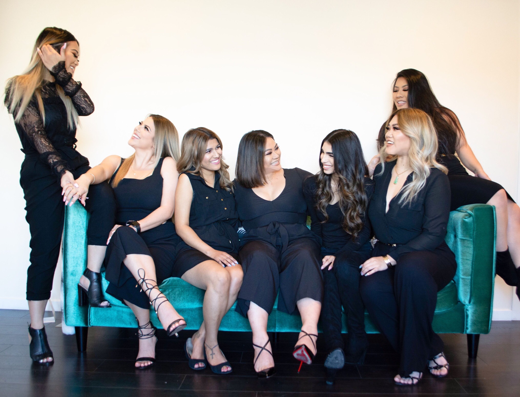 Our small but mighty team - is here to make you feel beautiful again, one lash at a time.