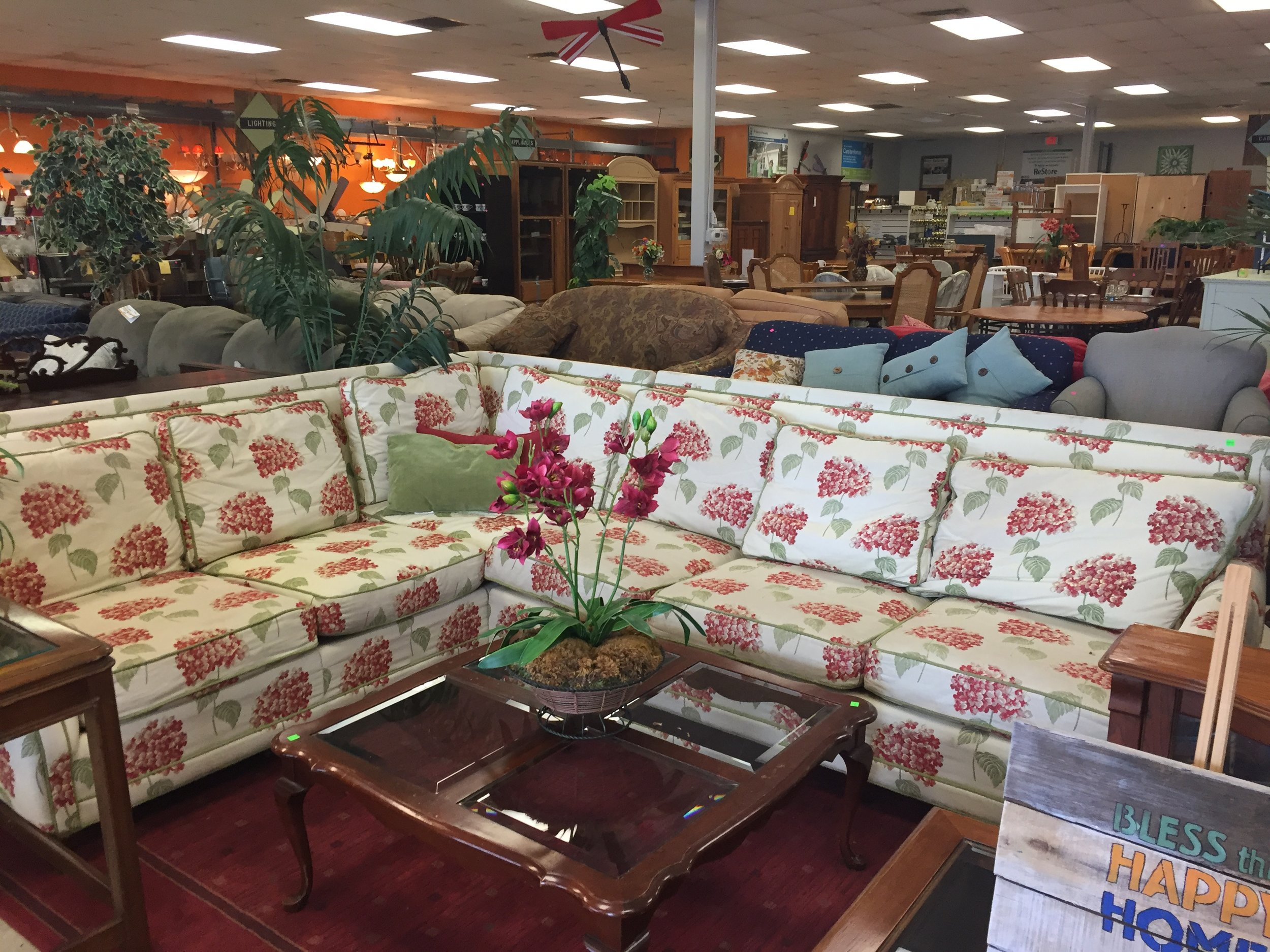Sectional I bought for $105 at the Habitat Re-Store. My awesome upholsterer, Marc at AFC Upholstery,has quoted me about $1500 including fabric to recover. The sectionals online I was drawn to were in the $8000-10,000 range- not that I ever would spend that!