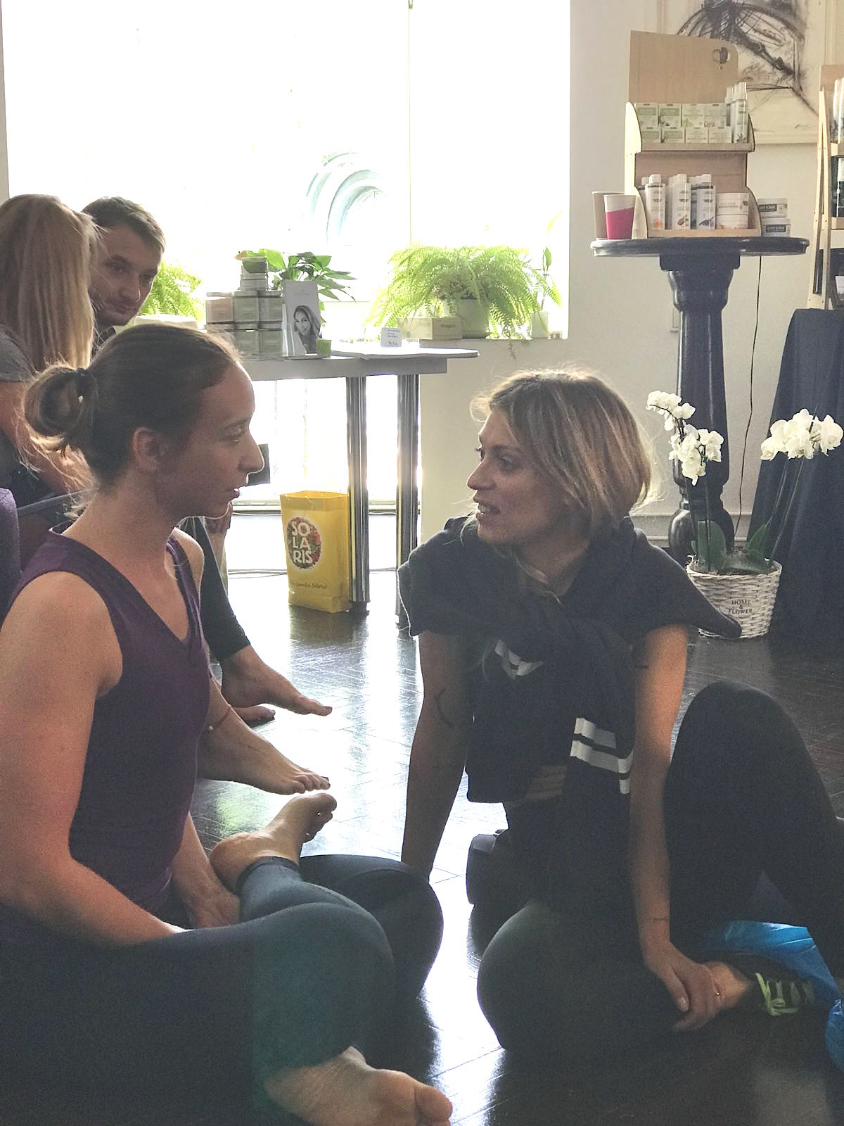 Alexandra, yoga teacher