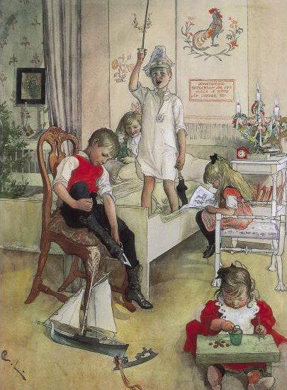 Christmas Morning  - Carl Larsson, 1894
