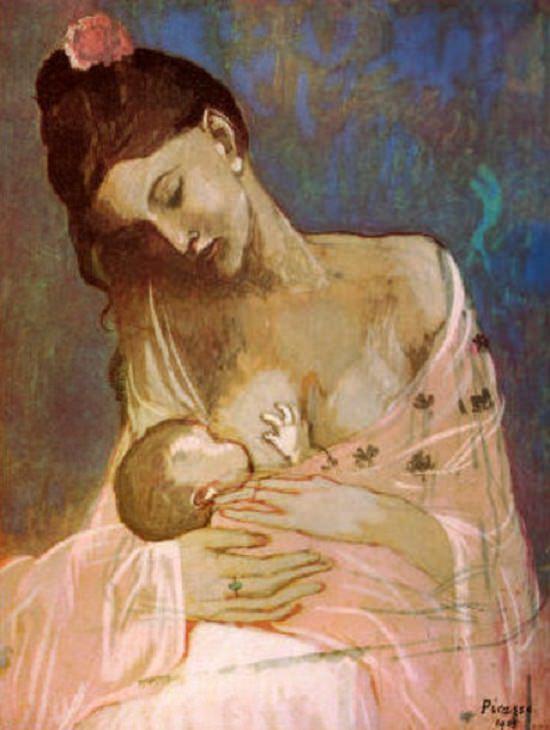 Maternity - Pablo Picasso, 1909