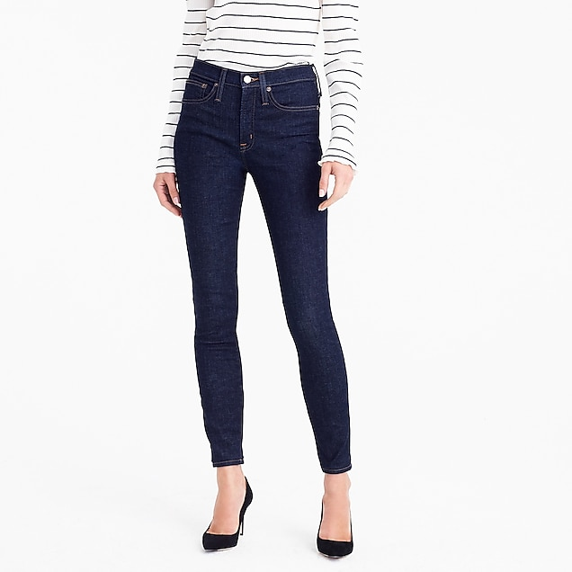 JCrew 9-inch Toothpick Jeans in Classic Rinse